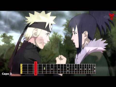 Naruto Shippuden ''Guren Theme'' Acoustic Guitar Tabs.