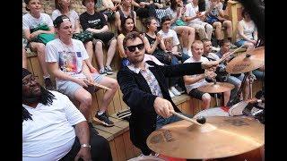 FUNKY DRUMMER BATTLE. Баттл барабанщиков. V1 Festival 2016