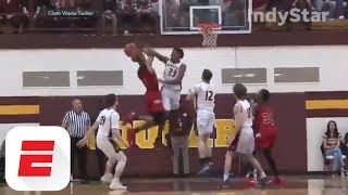 Unsigned 5-star recruit Romeo Langford drops 46 in win | ESPN
