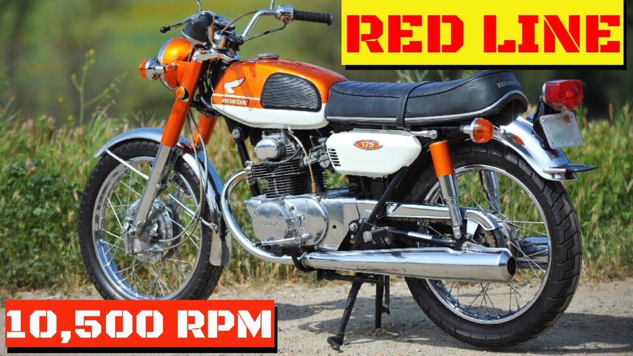 Honda Cb350 For Sale >> Honda CB175 -1969-LIVING LIFE AT RED LINE ( REVIEW & TEST RIDE) - YouTube