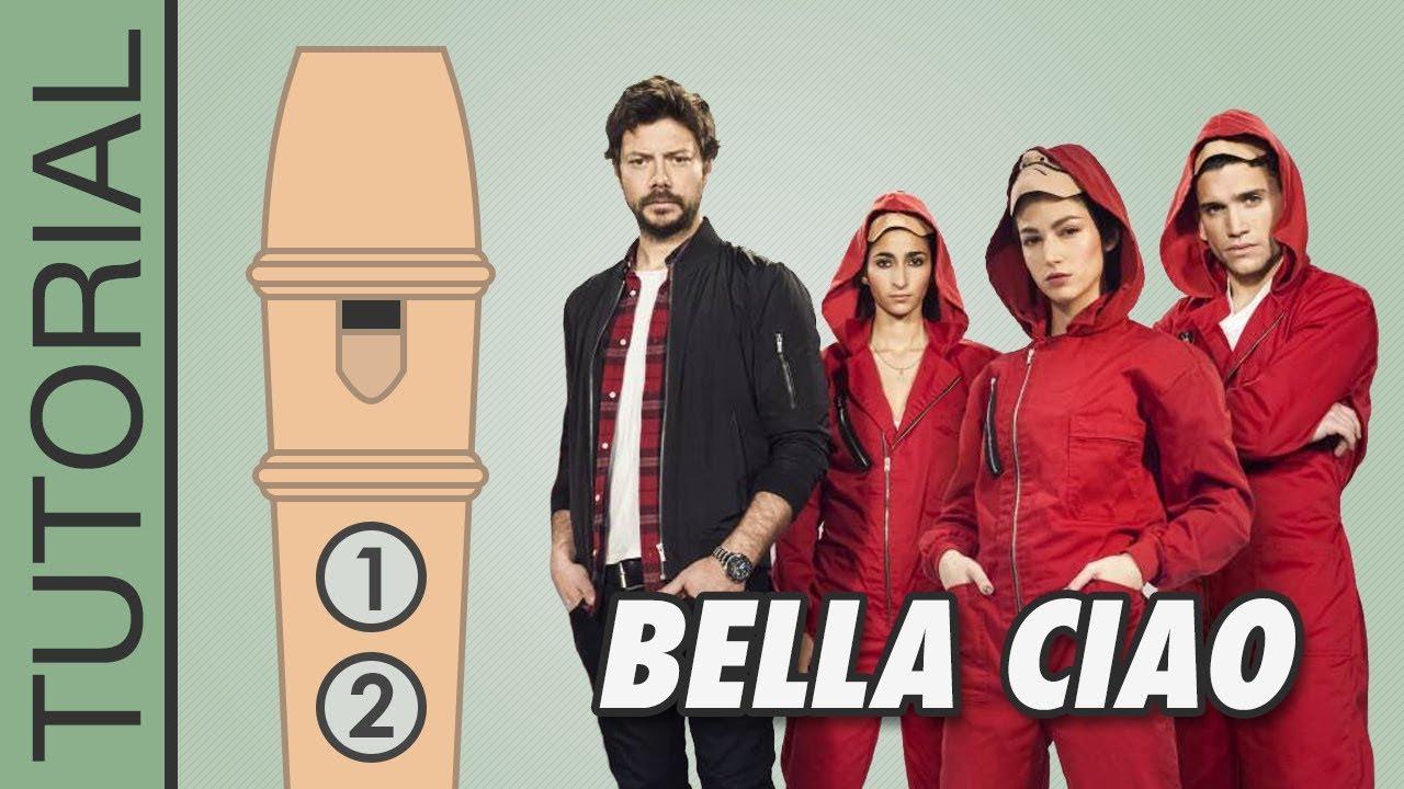 Bella Ciao (La Casa de Papel - Money Heist) - Recorder Notes Tutorial