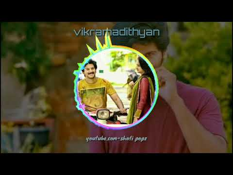 Vikramadithyan proposal scene audio spectrum,bgm,DQ,