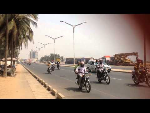 Welcome To Lome,Togo Transportation Is Mostly Motorbike
