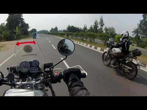 How good is Royal Enfield Himalayan on highways?