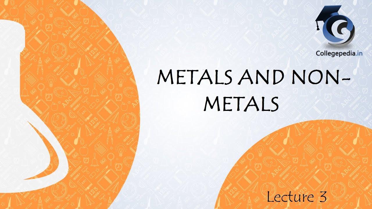 chemical properties of metals pdf