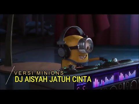 DJ Aisyah Jatuh Cinta Pada Jamilah Tik Tok Parodi Minions