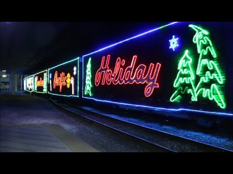 CP Holiday Train 2018 Arriving at Milwaukee Intermodal Station
