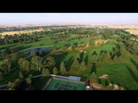 Above the Cheyenne Country Club