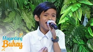 """Magandang Buhay: Keifer Sanchez sings """"Akin Ka Na Lang"""""""