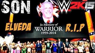 WWE 2K15 Türkçe | 5.Hikaye SON | Elveda Efsane Warrior | Ps4 | oynanış