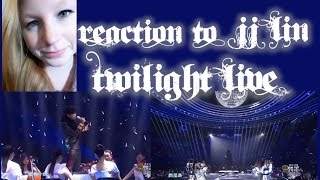 "REACTION TO JJ LIN ""TWILIGHT"" LIVE VIDEO/SINGAPORE"