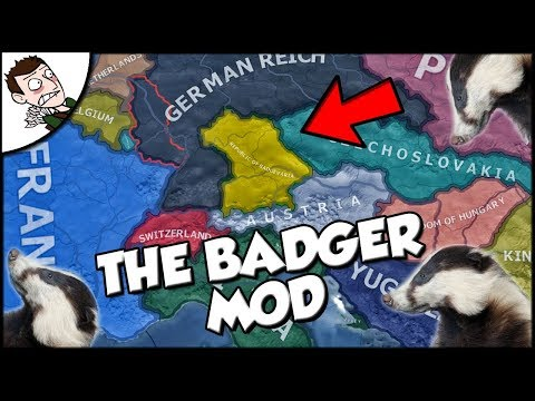 Creating a Badger Empire?! On the Badger Mod For Hearts of Iron 4 hoi4