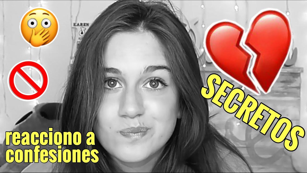 REACCIONO a los SECRETOS de mis SEGUIDORES😲  *HAGO UNA CONFESIÓN 💔*  | Inlovewithkaren