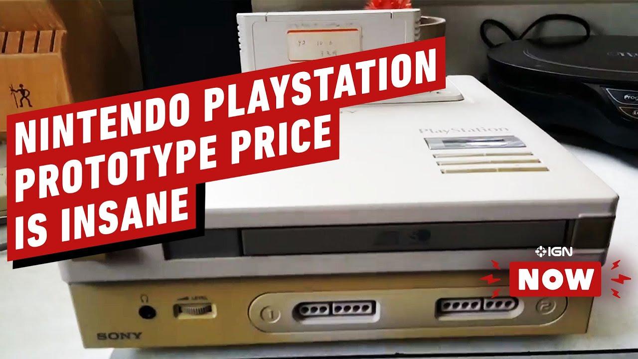 Nintendo PlayStation Prototype será o item de videogame mais caro de todos os tempos - IGN Now + vídeo