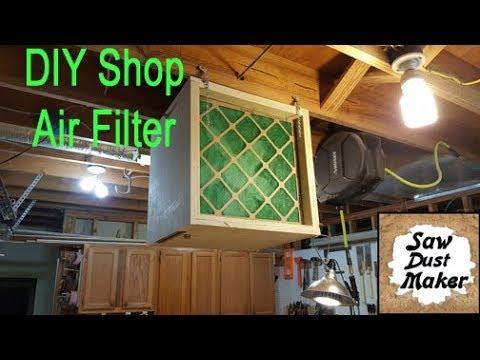Shop Built Air Filter