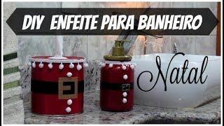 PORTA PAPEL DE NATAL DO LIXO AO LUXO