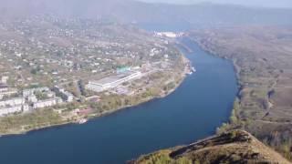 Вид с горы Аблакетка близ г. Усть-Каменогорска