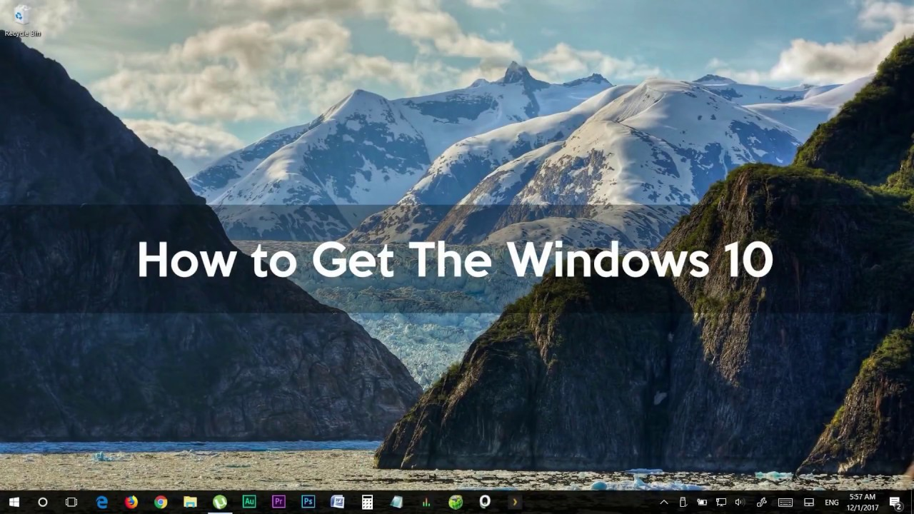 how to getwindows 10 fall creators update