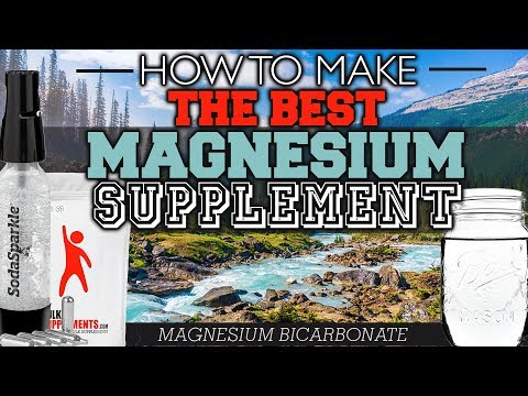 How To Make The Best Magnesium Supplement!