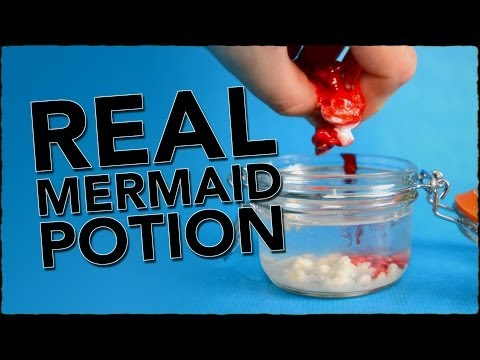 How To Become A Mermaid - A Potion That...