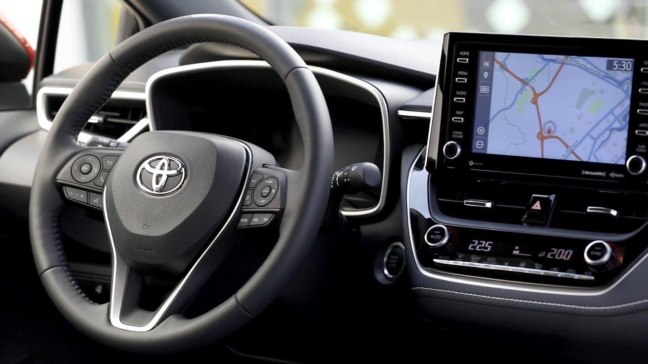 2019 Toyota Corolla Hatchback Xse Interior Youtube