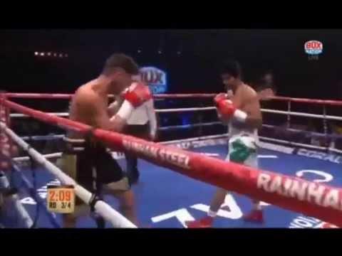Vijender Singh's Pro debut Match vs Sonny Whiting Knockout