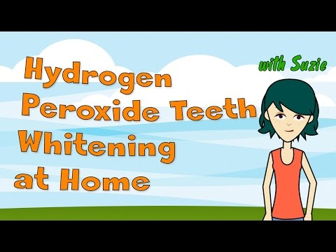 Hydrogen Peroxide Teeth Whitening at Home
