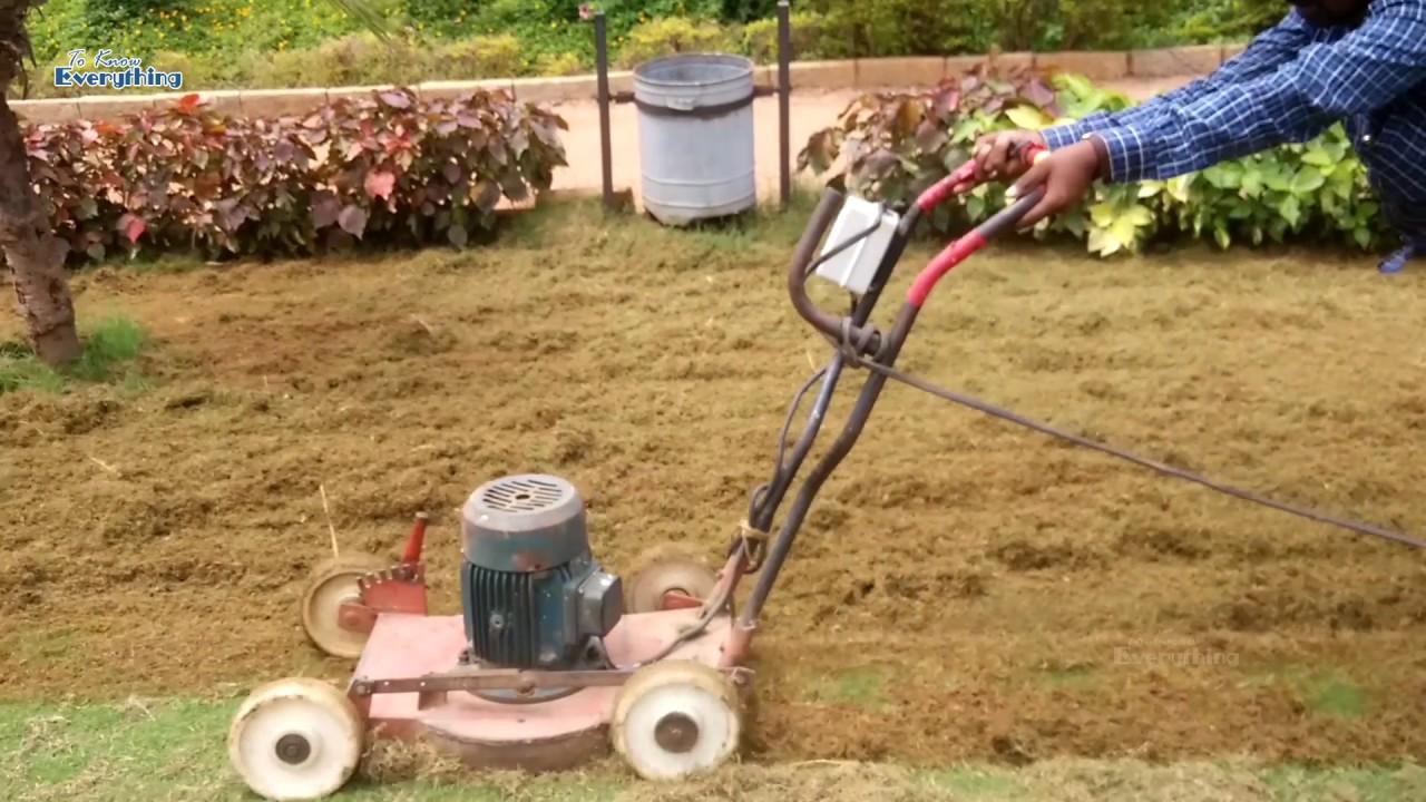 lawn grass cutting machine grass cutter machine to know