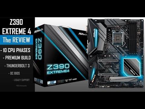 ASROCK Z390 EXTREME4 : the comeback!