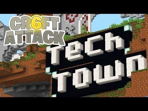 Neue Stadt gegründet :D! - Minecraft Craft Attack 6 #44 - SparkofPhoenix