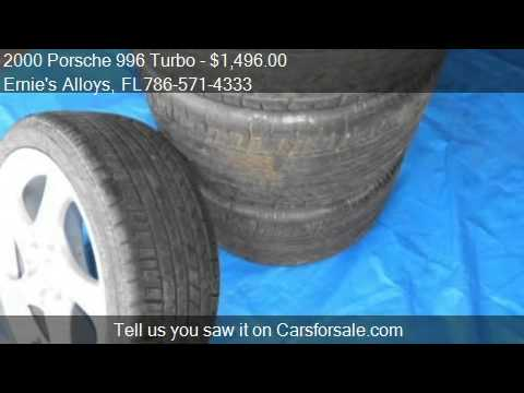 "2000-porsche-996-turbo-18""-wheels/tires---for-sale-in-miami,"