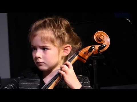 Feliz Navidad Concert Strings Lake Michigan Youth Orchesta Miriam Jordan Cello