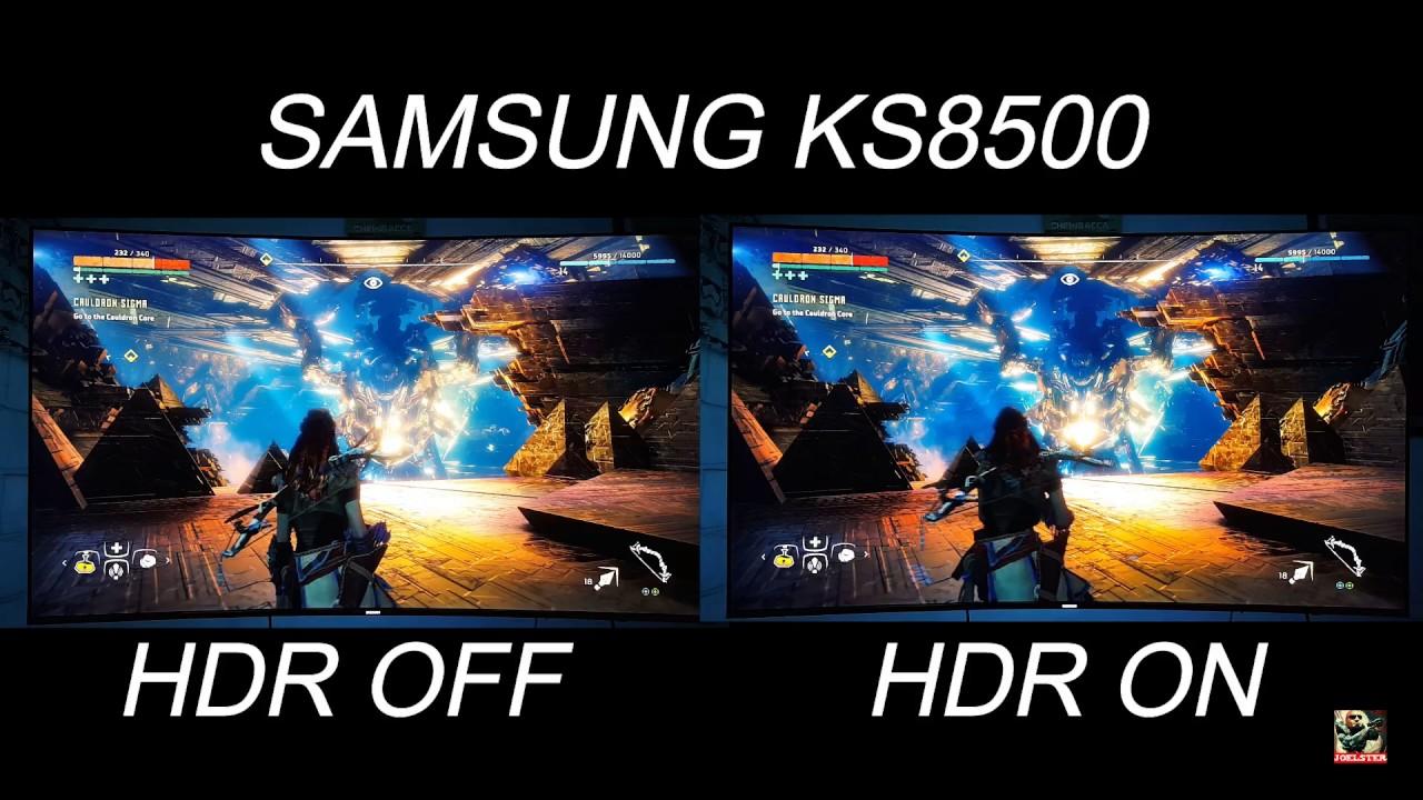 Pubg Hdr Vs No Hdr: Horizon Zero Dawn HDR Vs SDR Comparison On PS4 Pro On A