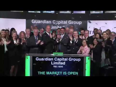 Guardian Capital Group Limited Opens Toronto Stock Exchange, May 10, 2019