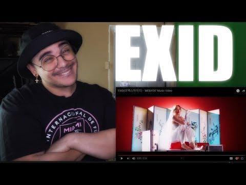 EXID - &39;ME&YOU&39;   Reaction DROP IT LOW
