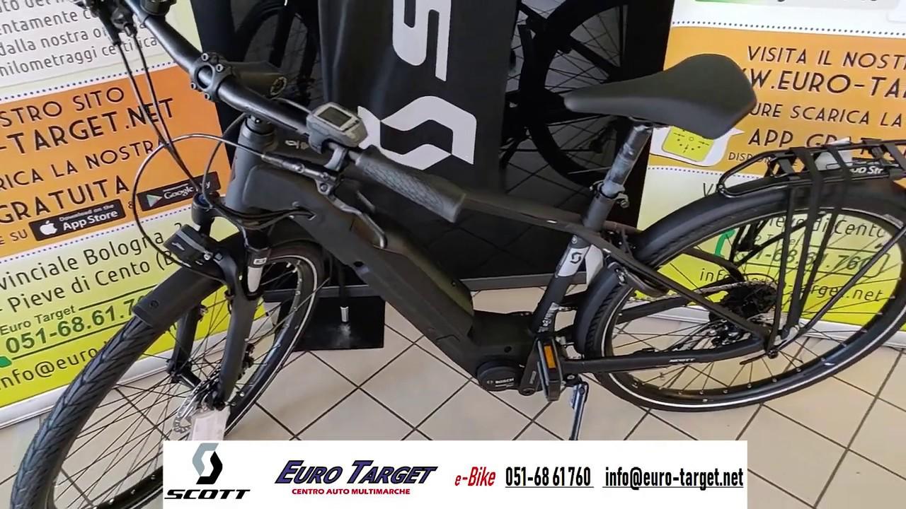 Scott Sub Tour Eride E Bike Bicicletta Elettrica Urban