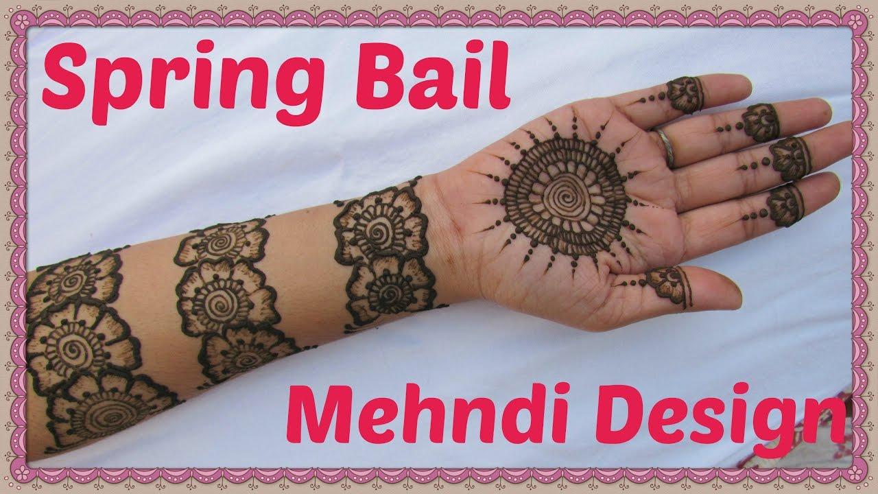 Spring bail mehndi design beautiful mehndi designs indian mehndi spring bail mehndi design beautiful mehndi designs indian mehndi designs 2016 altavistaventures Images