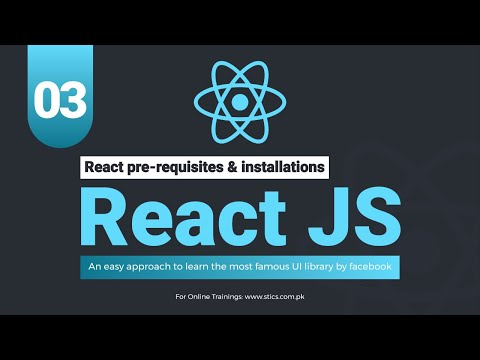 React JS In Udru | हिंदी (React pre-requisites & installation) Lecture 3 thumbnail