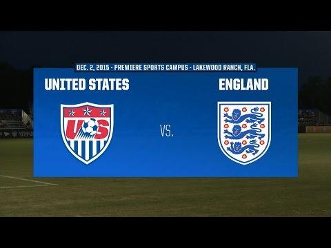 2015 Nike International Friendlies: USA vs. England
