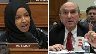 Rep. Omar CALLS OUT Neocon War Criminal To His Face