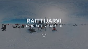 360° Reindeer Herders of Raittijärvi Village Preparing for Daily Duties I 100 Moods From Finland
