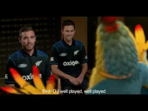 Wikki Paaji teaches the New Zealand Cricket team how to greet, the Indian Way | Play The Host