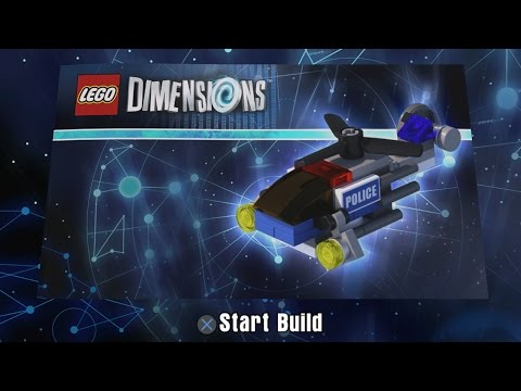 Lego Dimensions Police Helicopter Building Instructions Lego
