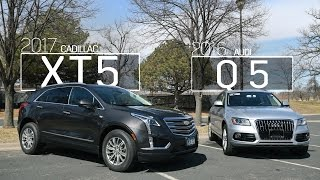 Cadillac XT5 vs Audi Q5 | Model Comparison | Driving Review