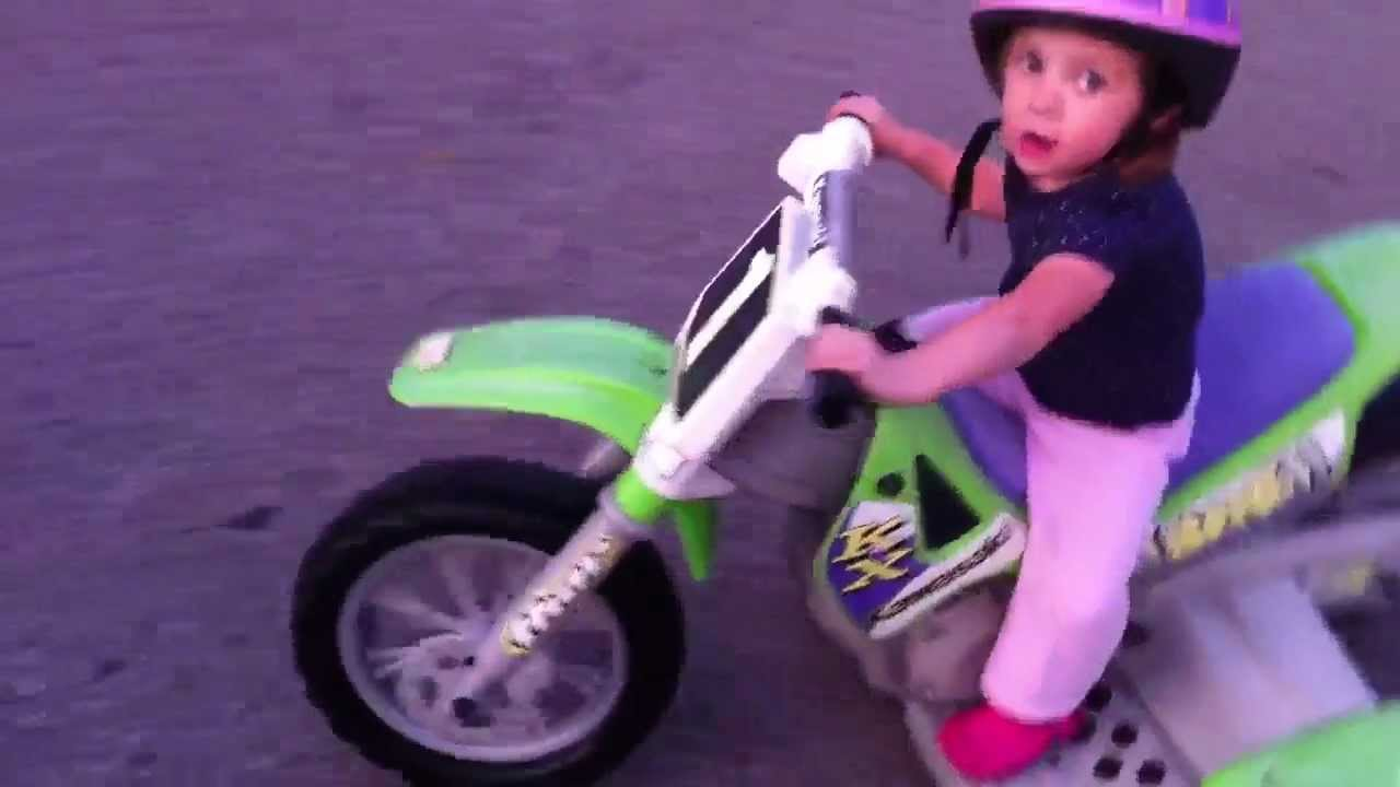 Custom Ride Ons 12v Pw Kawasaki Super Shock Dirt Bike 2 By