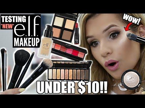 FULL FACE Testing NEW ELF Makeup! *AFFORDABLE AF* | Hit or Miss
