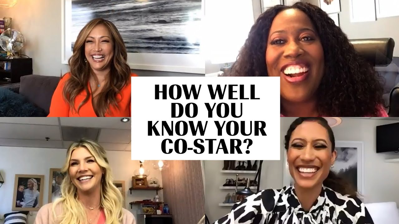 'The Talk' Co-Hosts Play a Boisterous Game of 'How Well Do You Know Your Co-Star?' | Marie Claire