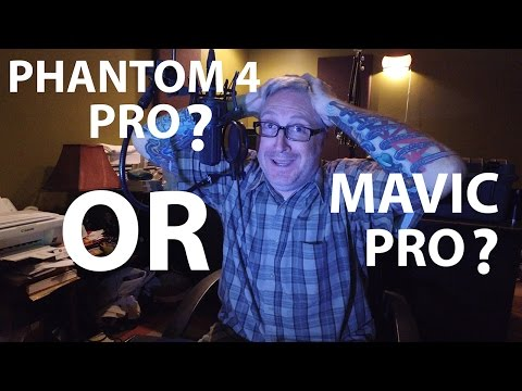 Phantom 4 PRO or MAVIC Pro? Which should you buy?