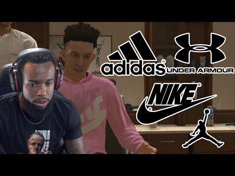 My Shoe Endorsement Deal   Who Did I Choose? NBA 2K19 MyCareer Ep. 18