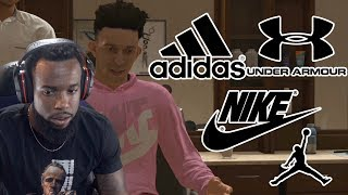 My Shoe Endorsement Deal | Who Did I Choose? NBA 2K19 MyCareer Ep. 18